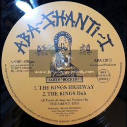 "Aba-Shanti-I-12""-The Kings Highway / The Shanti-Ites + I Fear No Evil / The Shanti-Ites ‎"