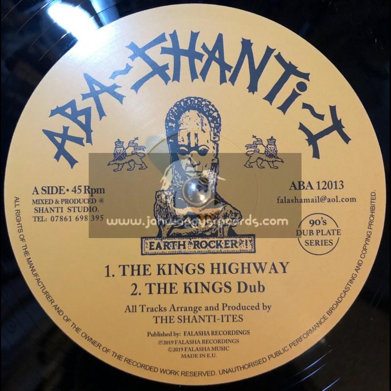 "Aba-Shanti-I-12""-The Kings Highway / The Shanti-Ites + I Fear No Evil / The Shanti-Ites "