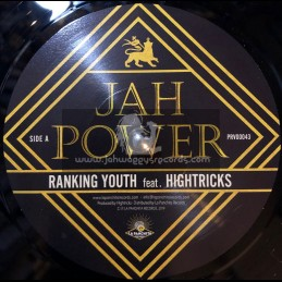 "La Panchita Records-7""-Jah Power / Ranking Youth Feat. Hightricks + Dub Version / Chalart58"