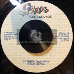"Gussie Roots Sounds-7""-Their Own Way / Dennis Brown"