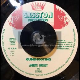 """Sasston Production-7""""-Gunshooting / Annette Brissett & Sistrens"""