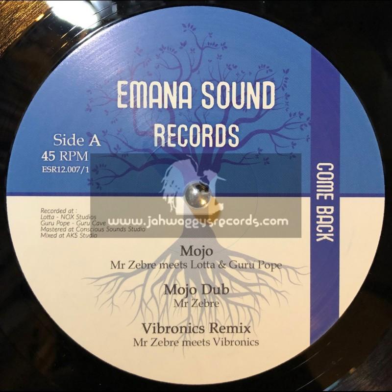 "Emana Sound Records-12""-Mojo / Mr Zebre meets Lotta & Guru Pope + Tribute To The King / Artman meets Dougie Conscious"