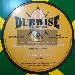 """DUBWISE PRODUCTIONS-10""""-WAR / DADDY FREDDY + FEAR THE FEELIN / JUDY GREEN"""