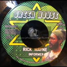 """Green House-7""""-Informer / Rick Wayne"""