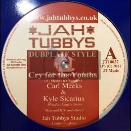 "Jah Tubbys-10""-Cry For The Youths/Carl Meeks(Kyle Sicarious) + African Postman/King Simeon & Kyle Sicarious"