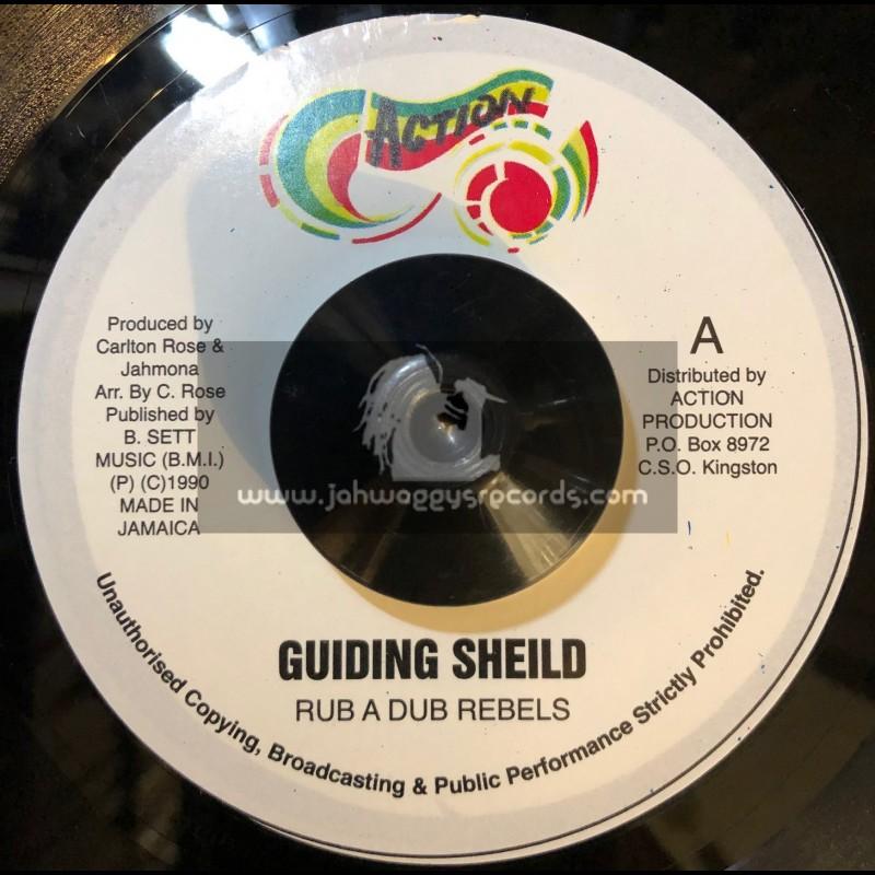 """Action-7""""-Guiding Sheild / Rub A Dub Rebels"""