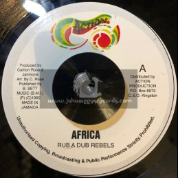 """Action-7""""-Africa / Rub A Dub Rebels"""