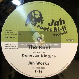 "Jah Roots Hi-Fi Records-12""-The Root / Donovan Kingjay + Jah Works / I-Fi + Ariginal Roots / Aba Ariginal"