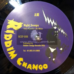 "Riddim Chango-12""-False Robotics / Night Scoops + No Water / Night Scoops"