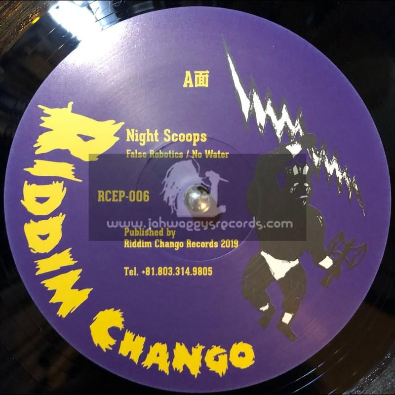 "Riddim Chango-12""-False Robotics / Night Scoops + No Water / Night Scoops"