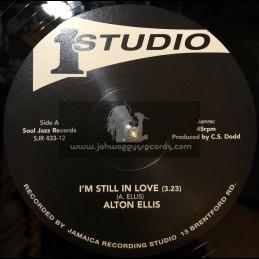 "Studio One-Soul Jazz-12""-I'm Still In Love / Alton Ellis + Just A Bit Of Soul / Soul Vendors"