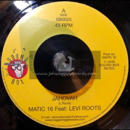 "Sound Box-7""-Jahovah / Levi Roots Feat Matic 16"