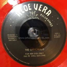 """Aloe Vera-7""""-For Her Eyes Only / Officinalis + The Champ / Prince Sugar"""