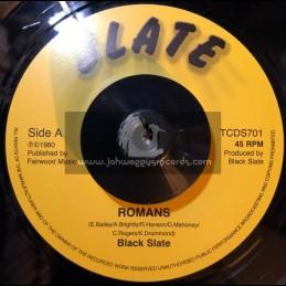 "Romans / Black Slate - 7"" - Test Press"