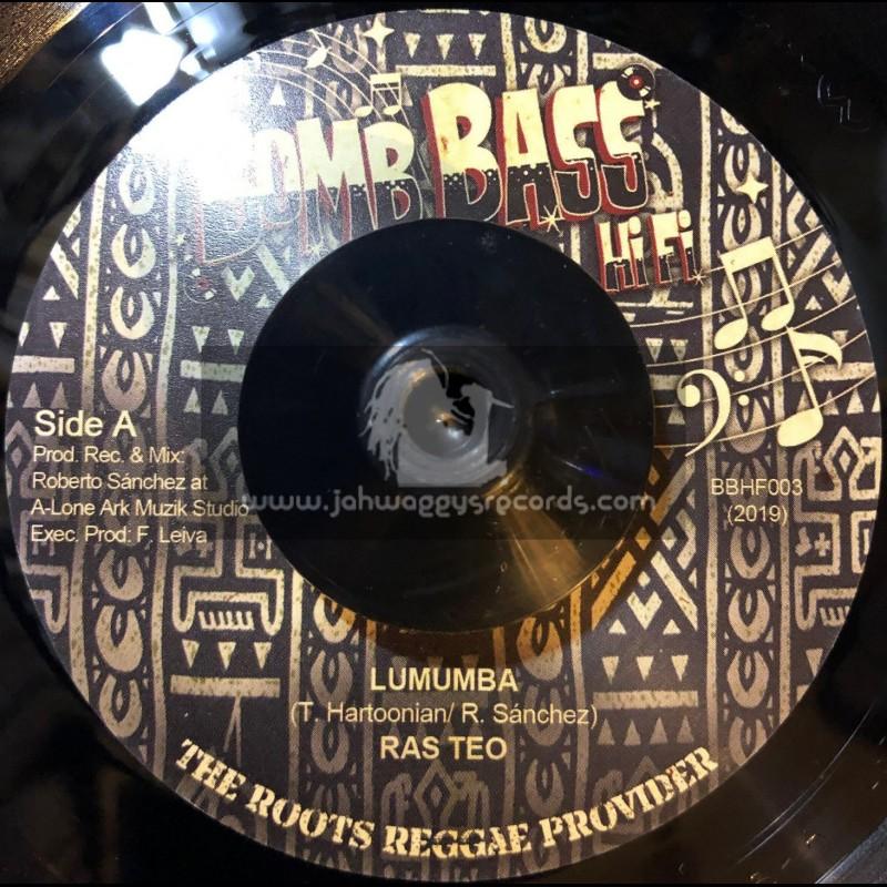 "Bomb Bass Hifi-7""-Lumumba / Ras Teo + Congo Dub / Lone Ark Riddim Force"
