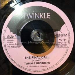 "Twinkle Music-7""-Final Call / The Twinkle Brothers"