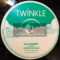 "Twinkle Music-12""-Big Scammer / Twinkle Brothers + Worry Bout Me / Twinkle Brothers"