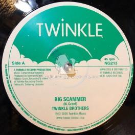 """Twinkle Music-12""""-Big Scammer / Twinkle Brothers + Worry Bout Me / Twinkle Brothers"""