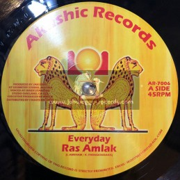 "Akashic Records-7""-Every Day / Ras Amlak + Everyday Dub / Jah Sonic."
