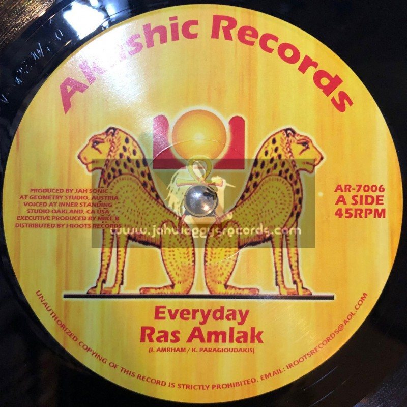 "Akashic Records-7""-Every Day / Ras Amlak + Everyday Dub / Jah Sonic."