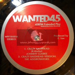 "Wanted 45-10""-Crazy Baldhead / Johnny Clarke"