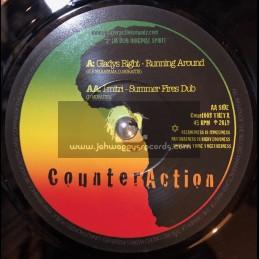 "Counteraction-7""-Running Around /  Gladys Right"