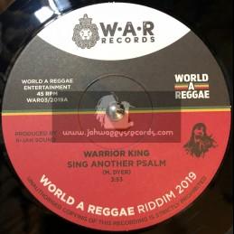 "World A Reggae Records-7""-Sing Another Psalm / Warrior King + Power Ignite / Vanessa Bongo"