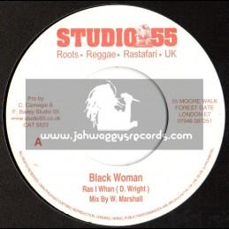 "Studio 55-7""-Black Woman / Ras I Whan"