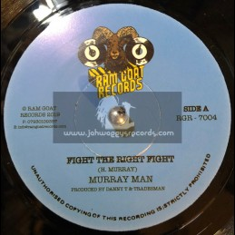 "Ram Goat Records-7""-Fight The Right Fight / Murray Man"