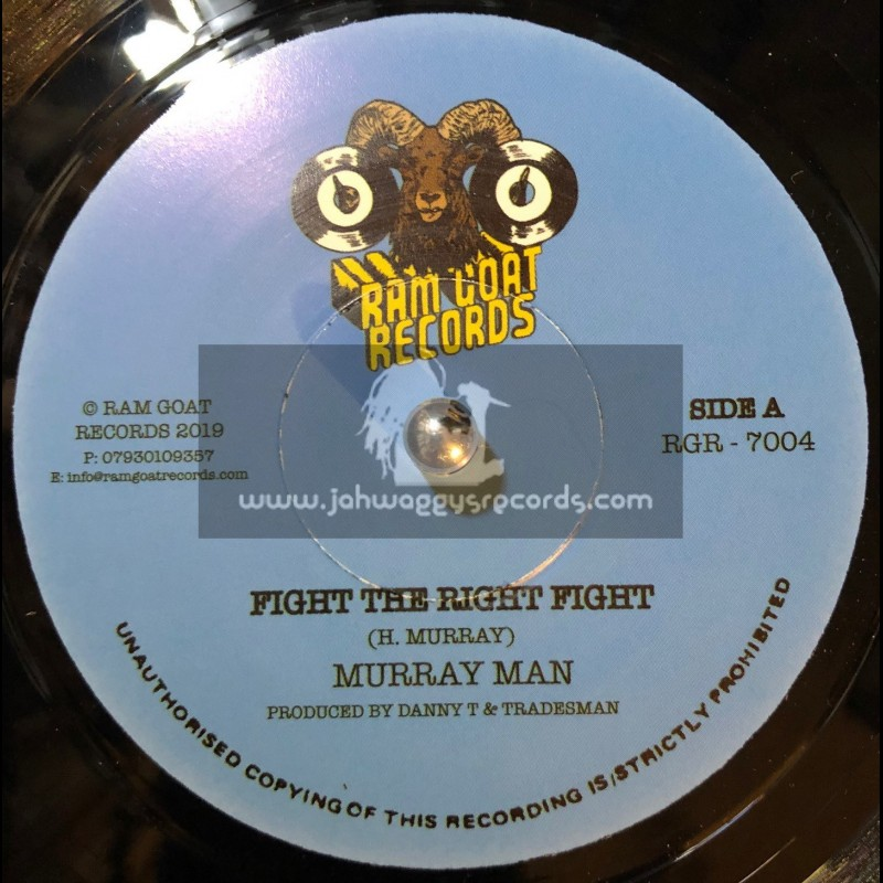 """Ram Goat Records-7""""-Fight The Right Fight / Murray Man"""