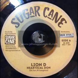 "Sugar Cane Records-7""-Heartical Don / Lion D"