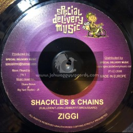 "Special Delivery Records-7""-Shackles & Chains / Ziggi"