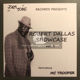 Jam Tone Records-Lp-Robert Dallas Showcase Vol 1 Feat. Mc Trooper
