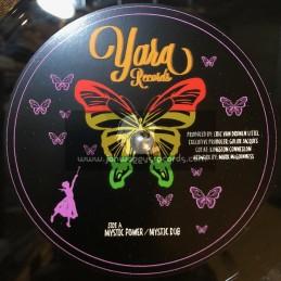 """Yana Records-12""""-Mystical Power / Eric Van Dunen + Blondy / Eric Van Dunen"""