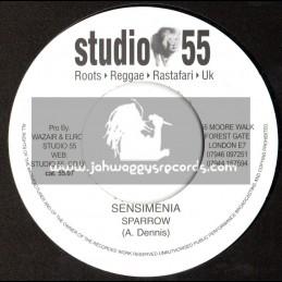 """Studio 55-7""""-Sensimenia / Sparrow"""