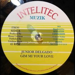 "Intelitec Muzik-7""-Gim Mi Your Love / Junior Delgado"