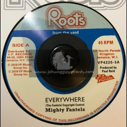 "Roots From The Yard-7""-Everywhere / Mighty Fantels"