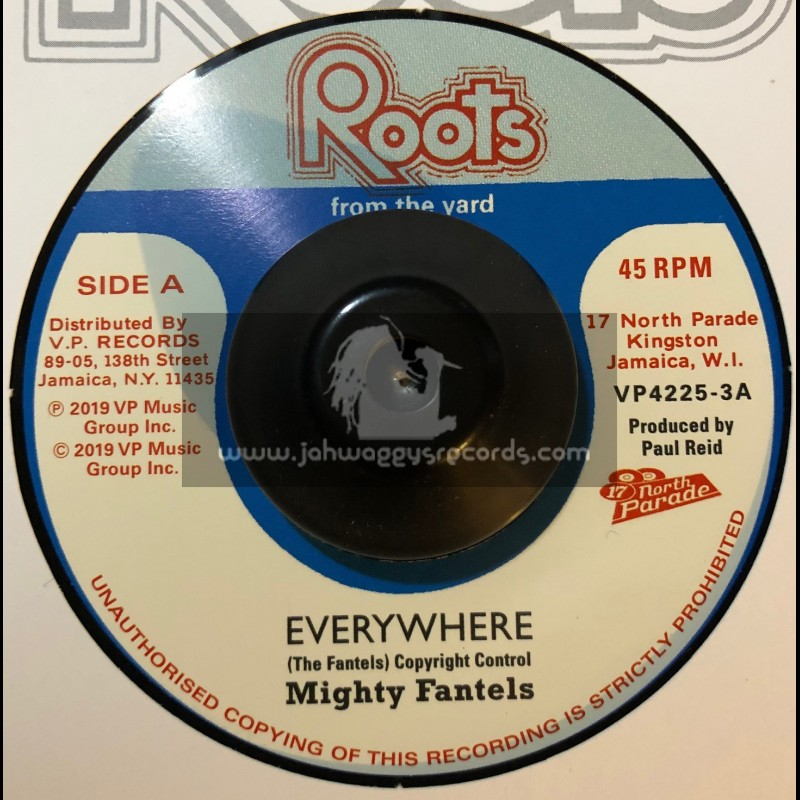 """Roots From The Yard-7""""-Everywhere / Mighty Fantels"""