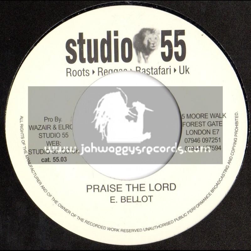 "Studio 55-7""-Praise The Lord / Errol Bellot"