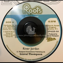 """Roots From The Yard-7""""-River Jordan / Linval Thompson"""