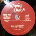 "Indica Dubs-7""-King David's Harp / Indica Dubs Meets Vibronics - The Dubwise Series – Part 1"