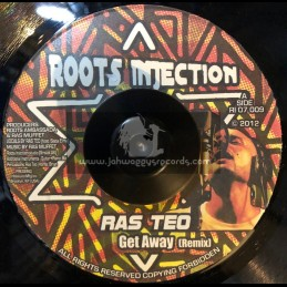 """Roots Injection-7""""-Get Away / Ras Teo (Remix)"""