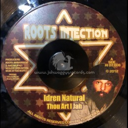 "Roots Injection-7""-Thou Art I Jah / Idren Natural"