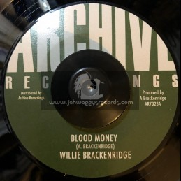 "Archive Recordings-7""-Blood Money / Willie Brackenbridge"