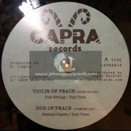 """Capra Records-10""""-Violin Of Peace / Dub String & Dub Tree + Everyday I Hear / Jobba & Dub Tree"""