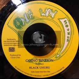 "One Way Sounds-7""-Going To Zion / Black Uhuru"