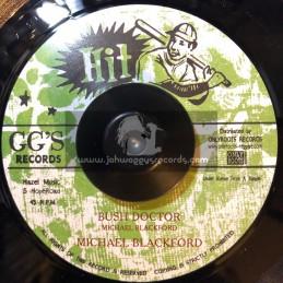 "Hit-GG Records-7""-Bush Doctor / Michael Blackford"