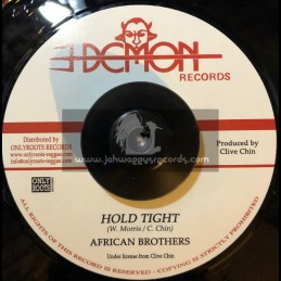 """Demon Records-7""""-Hold Tight / African Brothers + Tight Dub / Demon All Stars"""