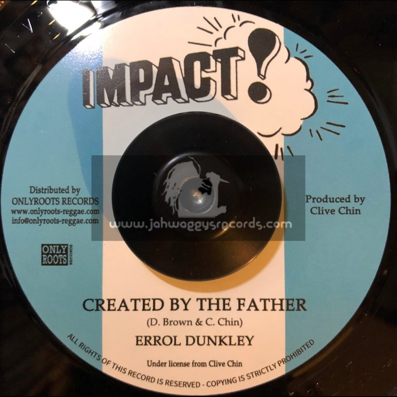 """Impact-7""""-Created By The Father / Errol Dunkley"""