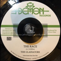 "Demon Records-7""-The Race / The Gladiators"